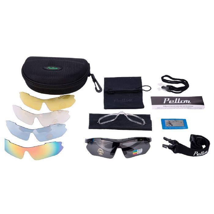 Comprei o Pellor Cycling Running por US 20,00 na Amazon. Vem com cinco  lentes. Bom custo-benefício. a65d1bd3db