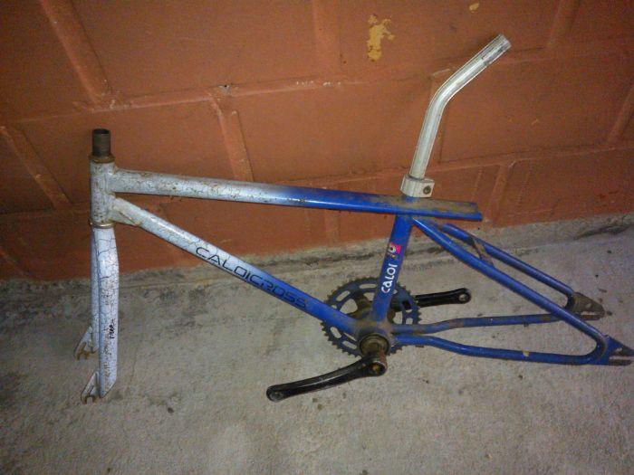 Restaur Caloi Freestyle Extra Light Craquelada Pedal