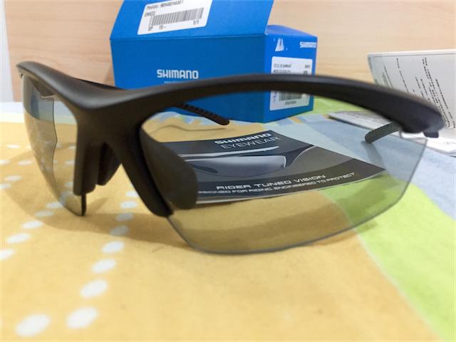 Comprei o Óculo Shimano CE EQX2-PH, com 03 pares de lentes, escura  espelhada, amarela e uma fotocromática. ef3676fa33
