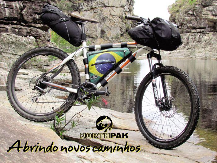 Viagem a serra do Cipó com o conjunto Bike packing Northpak 98ff4747573