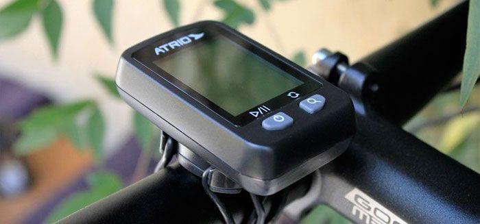 Teste - Ciclocomputador GPS Atrio Iron