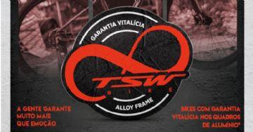 TSW Bike passa a oferecer garantia vitalícia para seus quadros de alumínio