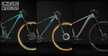 Guia de bikes de MTB XC Sense 2020