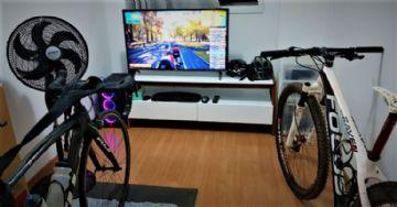 Como montar seu espaço para treinar de bike no rolo