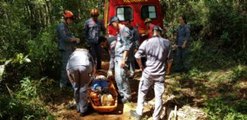 Ciclista cai na Serra do Japi (SP) e mobiliza bombeiros para resgate