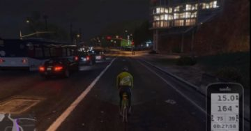 Modificação permite andar de bicicleta no GTA 5 com rolo interativo