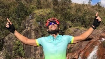 Fred, jogador do Fluminense, vai pedalar de BH até o Rio para arrecadar doações