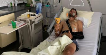 Fumic sofre grave acidente de treinamento e está hospitalizado