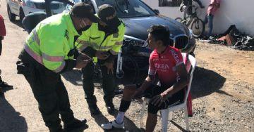 Quintana é atropelado durante treino e ficará de molho por duas semanas