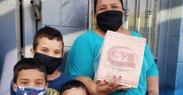 Campanha Pedal Solidário vai ajudar famílias em situação de extrema pobreza