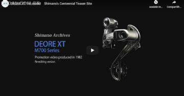 Em vídeo, Shimano relembra primeiro grupo Deore XT de 1982