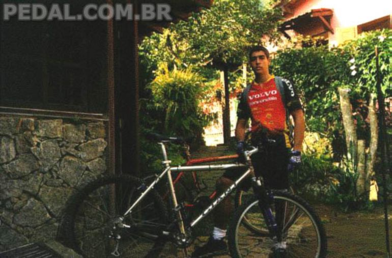 Primeira bike boa de cross-country