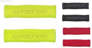 Manoplas Syncros Foam Grips unem baixo peso e três opções de cores