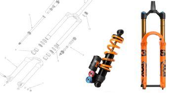 Como funciona a suspensão da bicicleta