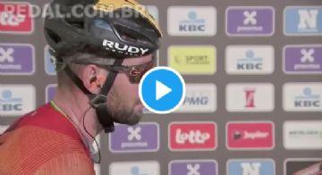 Vídeo - Cavendish chora em possível despedida do ciclismo