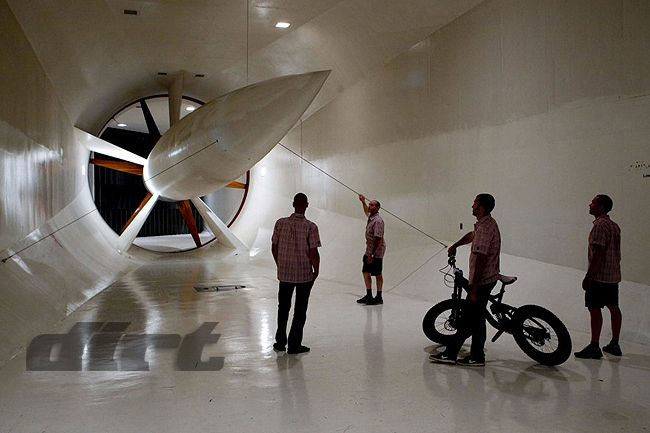 Túnel de vento da Trek