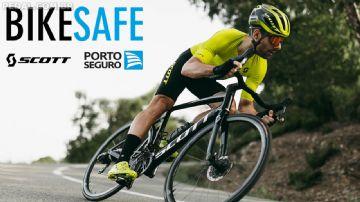 Seguro Bikesafe Scott oferece reposição direto com a marca em parceria com a Porto Seguro