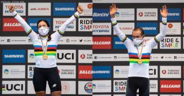 Mundial de MTB Maratona 2020 - Hector Leon e Ramona Forchini são os vencedores