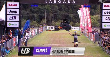 Brasileiro de MTB 2020 - XCO - Avancini é campeão, Zé Gabriel fecha em segundo
