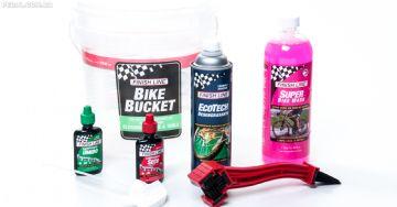 Finish Line - Três kits de limpeza para facilitar a manutenção da sua bike