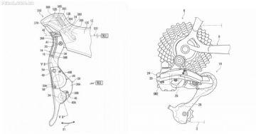 Novo Shimano Dura-Ace eletrônico 12V seria sem fio e com baterias auto carregáveis no STI, indica patente