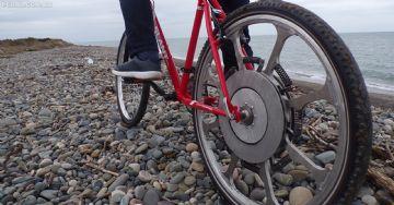 Roda Super Wheel Forciclette promete energia infinita gerada pelo peso do ciclista
