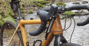 Twmpa Cycles GR 1.0 - Gravel de madeira que pesa menos de 9Kg