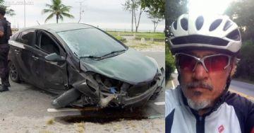 Ciclista morre atropelado por capitão dos bombeiros no Rio