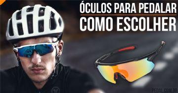 Como escolher óculos de ciclismo