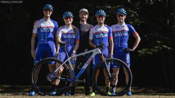Henrique Avancini apresenta a nova equipe Caloi