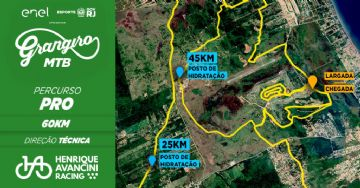 Circuito Grangiro 2021 divulga percursos Pro e Esporte