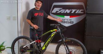 Fantic anuncia Luciano KDra Lancellotti como embaixador da marca no Brasil