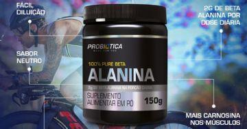 Probiótica lança 100% Pure Beta-Alanina