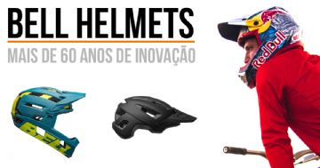 Capacetes Bell trazem alta tecnologia e diversos modelos no Brasil