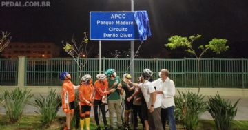 APCC Parque Madureira - Ciclistas ganham novo espaço para treinos no Rio