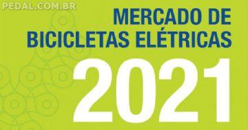 Venda de bicicletas elétricas disparou no Brasil em 2020