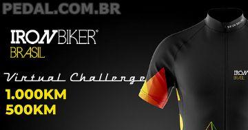 Desafio Virtual Iron Biker 2021 - Inscrições abertas