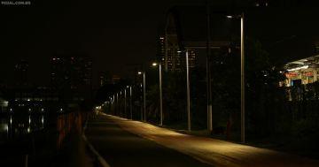 Ciclovia da Marginal Pinheiros ganha o primeiro trecho Iluminado na Capital Paulista