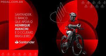 Strava lança desafio de bike com Henrique Avancini e Santander