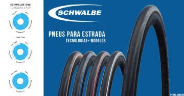 Pneus Schwalbe de Estrada - Conheça os modelos disponíveis no Brasil