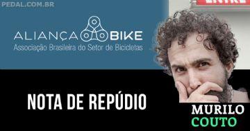 Aliança Bike publica nota de repúdio à vídeo de Murilo Couto