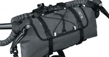Bolsa Pro Discovery de guidão é impermeável e leva até 8 litros