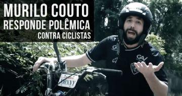 Humorista Murilo Couto comenta polêmica com ciclistas com novo vídeo