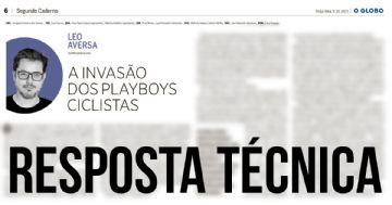 Polêmica Colunista do Globo - Resposta técnica de Gustavo Astolphi