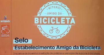 Niterói vai implantar Selo Amigo da Bicicleta para comerciantes