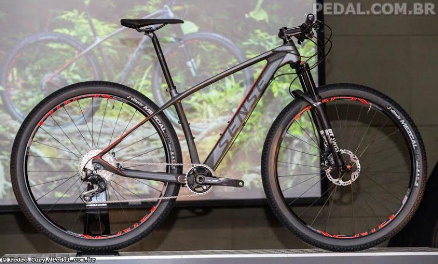 Lançamento Sense Bikes 2017 - Impact Carbon remodelada - Pedal
