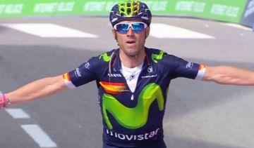 Alejandro Valverde sofre acidente durante treinamento