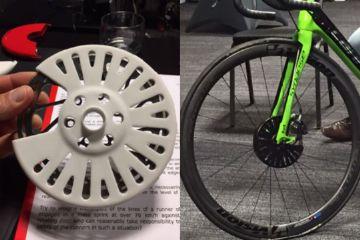 Associação de Ciclistas Profissionais posta foto de possíveis novas capas de freio a disco