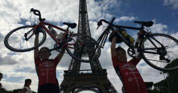 Garoto de apenas 9 anos pedala de Londres até Paris
