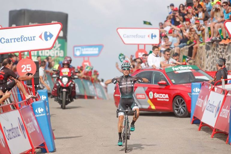 Majka vence etapa, Froome perde quatro segundos — Vuelta